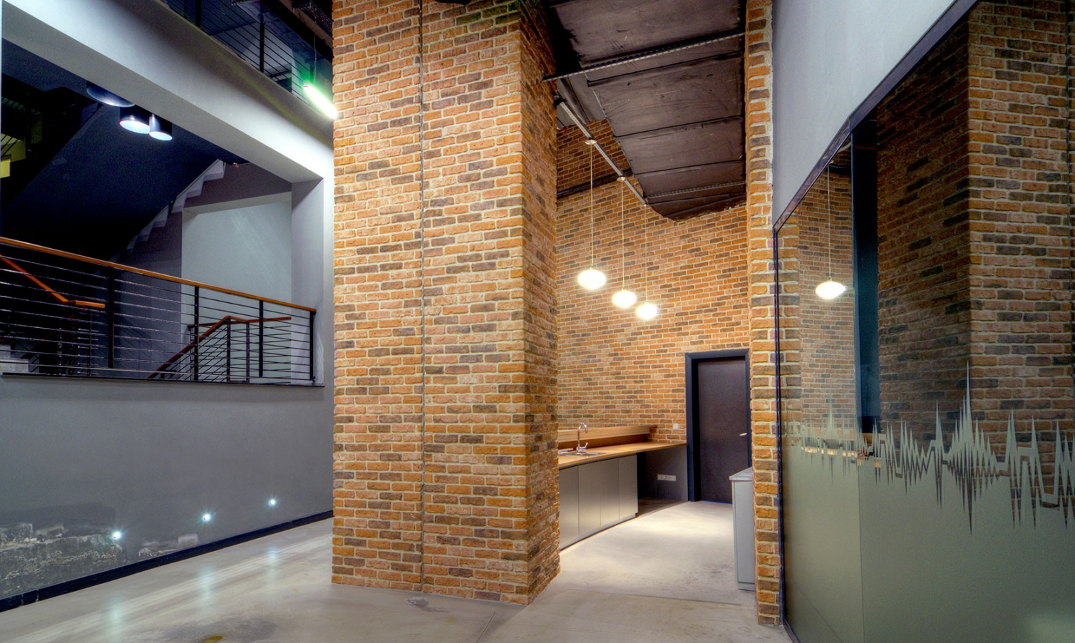 Granulbrick 50 manufactured brick cladding