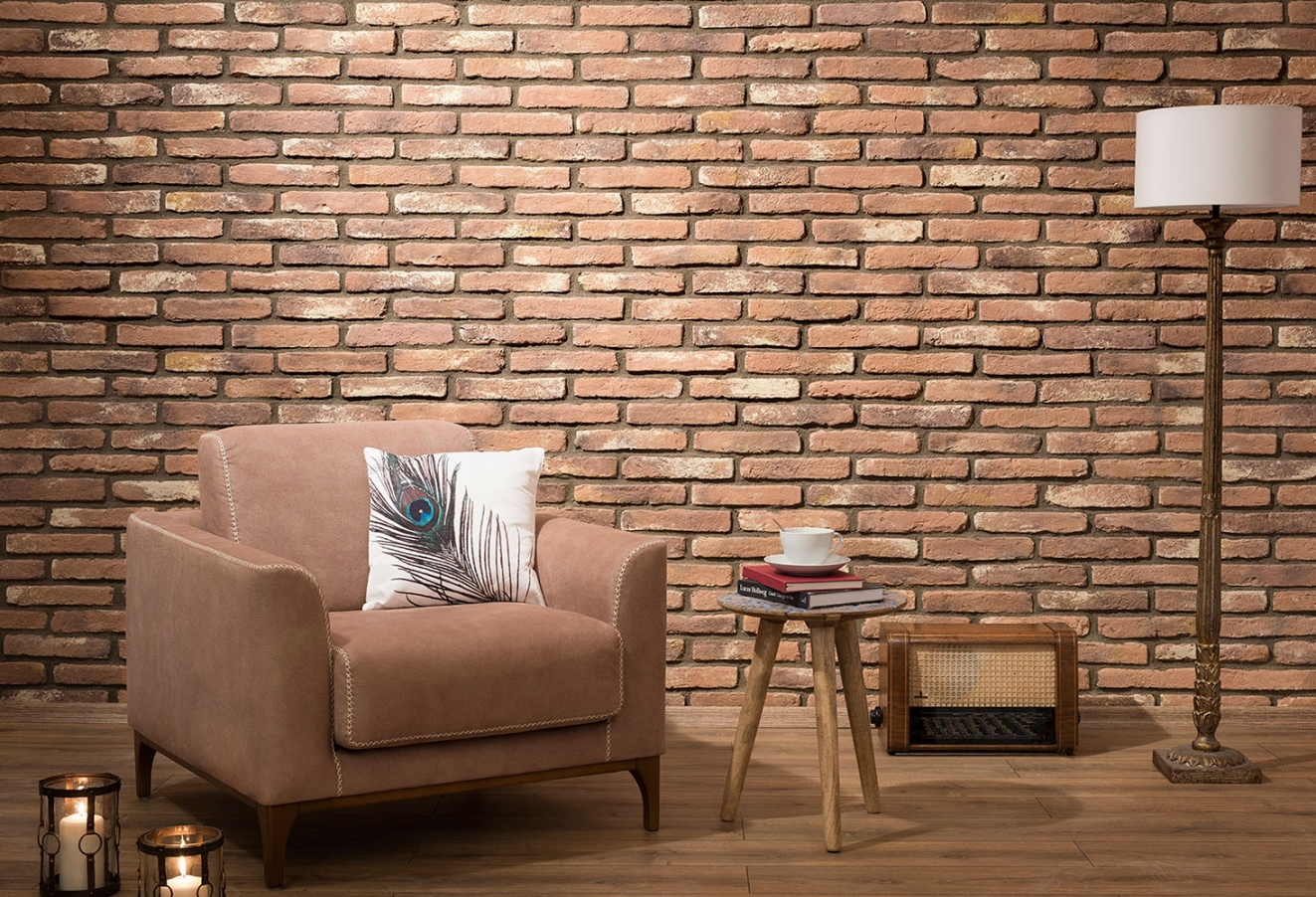 Ferrara manufactured brick cladding
